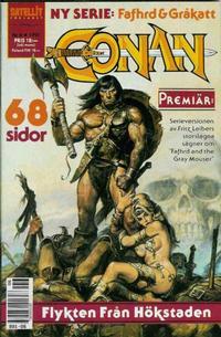 Cover Thumbnail for Conan (Semic, 1990 series) #6/1991