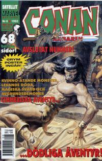Cover Thumbnail for Conan (Semic, 1990 series) #8/1992