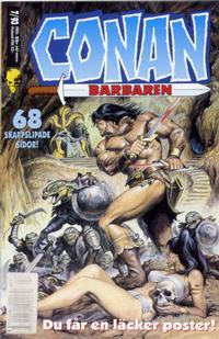 Cover Thumbnail for Conan (Semic, 1990 series) #7/1993
