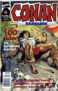 Cover Thumbnail for Conan (Semic, 1990 series) #4/1994