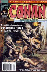 Cover Thumbnail for Conan (Semic, 1990 series) #4/1995
