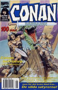 Cover Thumbnail for Conan (Semic, 1990 series) #6/1995
