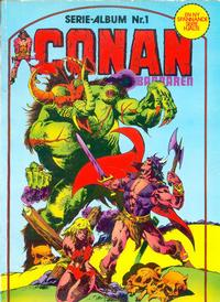 Cover Thumbnail for Conan - Barbaren (Atlantic Förlags AB, 1983 series) #1