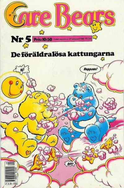 Cover for Care Bears (Semic, 1988 series) #5/1988