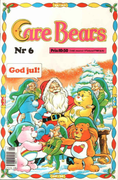 Cover for Care Bears (Semic, 1988 series) #6/1988
