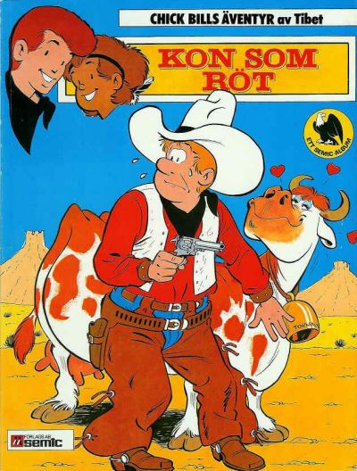 Cover for Chick Bills äventyr (Semic, 1980 series) #3