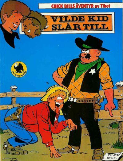 Cover for Chick Bills äventyr (Semic, 1980 series) #4