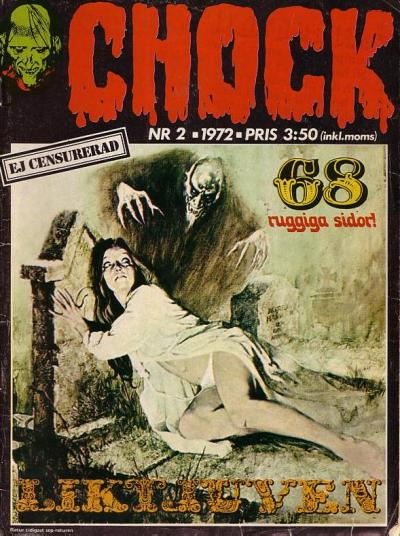 Cover for Chock (Semic, 1972 series) #2/1972