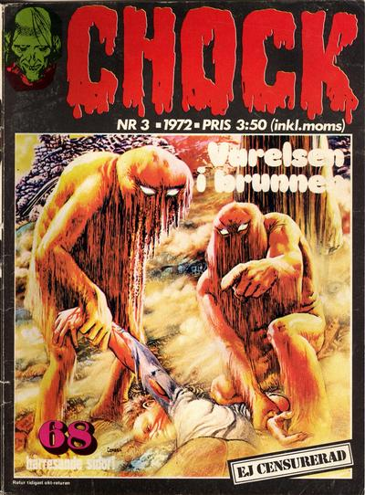 Cover for Chock (Semic, 1972 series) #3/1972