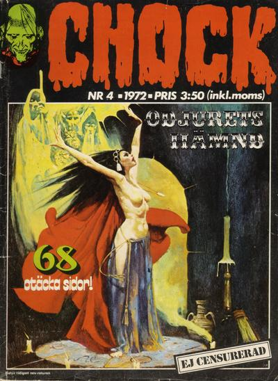 Cover for Chock (Semic, 1972 series) #4/1972