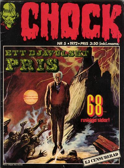 Cover for Chock (Semic, 1972 series) #5/1972
