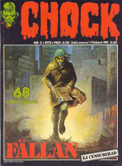 Cover for Chock (Semic, 1972 series) #3/1973