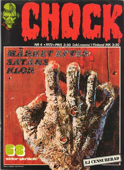 Cover for Chock (Semic, 1972 series) #4/1973