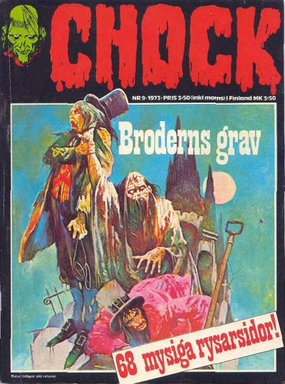 Cover for Chock (Semic, 1972 series) #9/1973