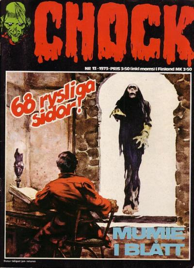 Cover for Chock (Semic, 1972 series) #13/1973