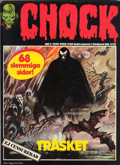 Cover for Chock (Semic, 1972 series) #2/1974