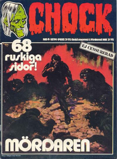 Cover for Chock (Semic, 1972 series) #4/1974