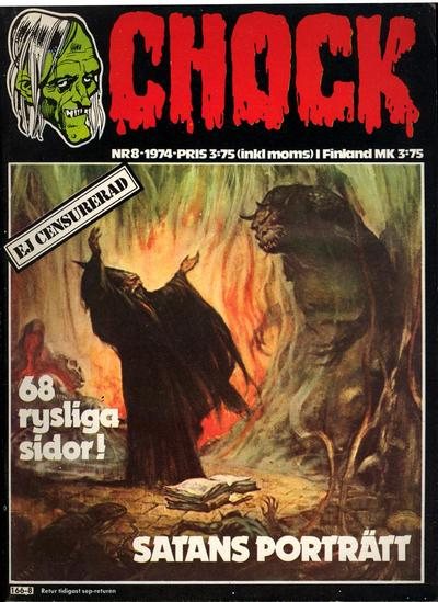 Cover for Chock (Semic, 1972 series) #8/1974