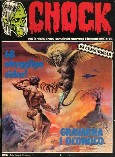 Cover for Chock (Semic, 1972 series) #9/1974