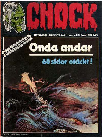 Cover for Chock (Semic, 1972 series) #10/1974