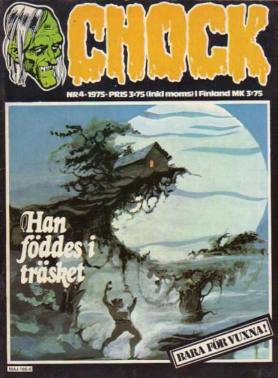 Cover for Chock (Semic, 1972 series) #4/1975