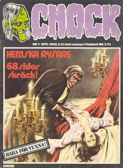 Cover for Chock (Semic, 1972 series) #7/1975