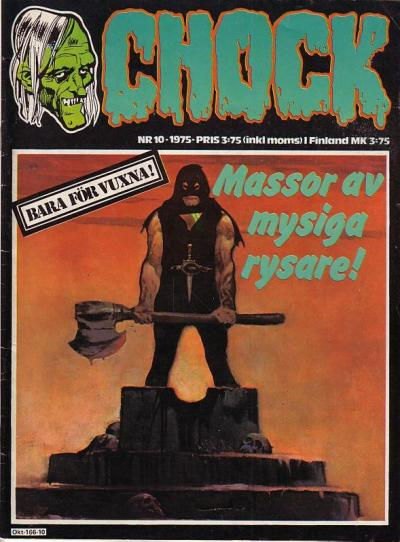 Cover for Chock (Semic, 1972 series) #10/1975