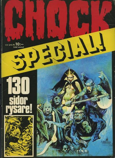 Cover for Chock special (Semic, 1973 series) #[1]
