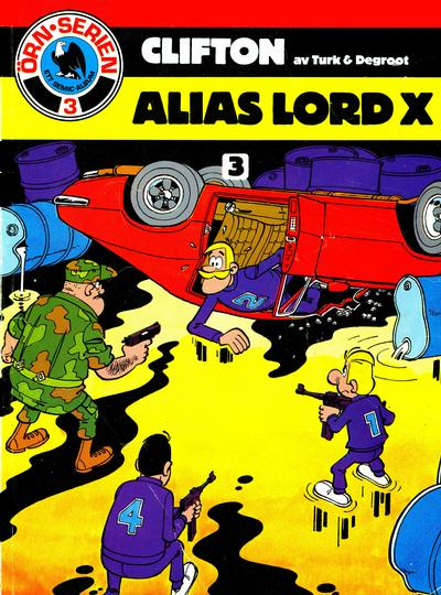 Cover for Clifton (Semic, 1982 series) #3 - Alias Lord X