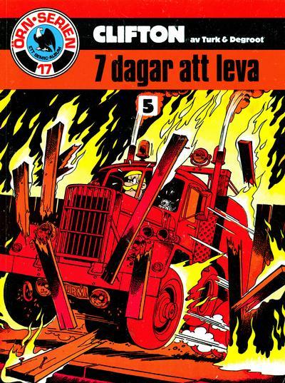 Cover for Clifton (Semic, 1982 series) #5 - 7 dagar att leva