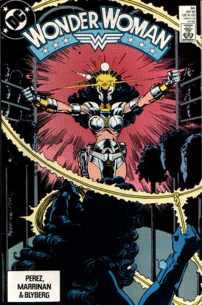 Cover for Wonder Woman (DC, 1987 series) #34