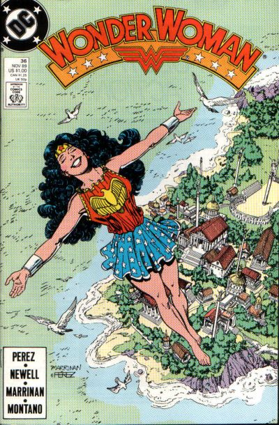 Cover for Wonder Woman (DC, 1987 series) #36 [Direct]