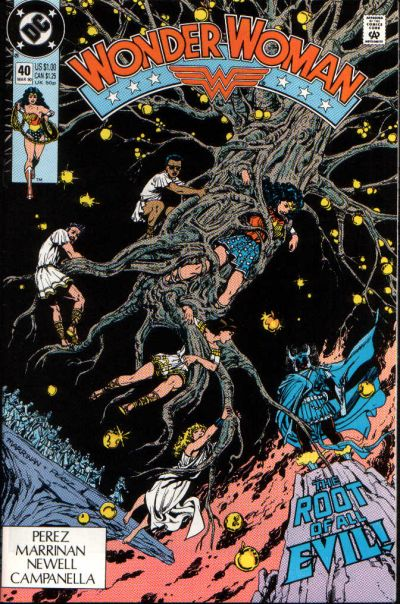 Cover for Wonder Woman (DC, 1987 series) #40