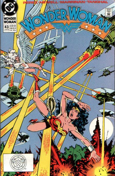 Cover for Wonder Woman (DC, 1987 series) #43