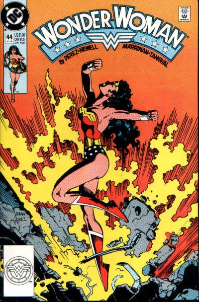 Cover for Wonder Woman (DC, 1987 series) #44 [Direct]