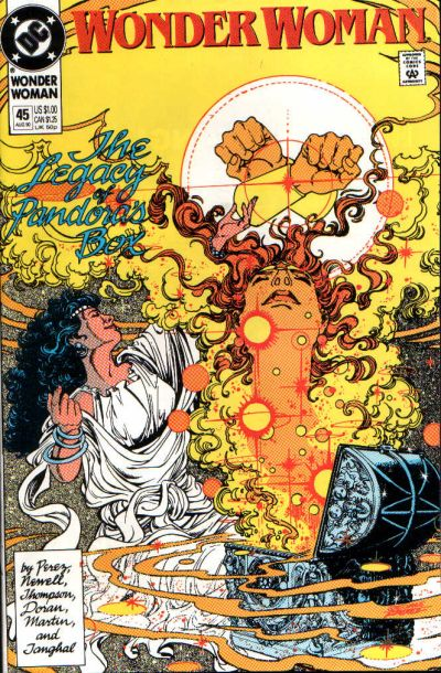 Cover for Wonder Woman (DC, 1987 series) #45