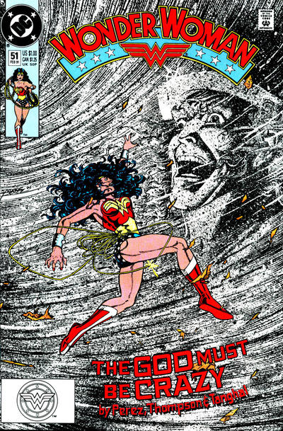 Cover for Wonder Woman (DC, 1987 series) #51 [Direct]