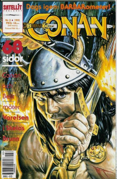 Cover for Conan (Semic, 1990 series) #3/1991