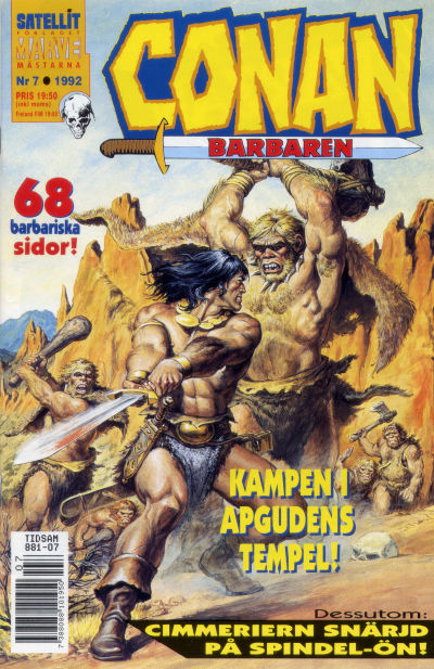 Cover for Conan (Semic, 1990 series) #7/1992