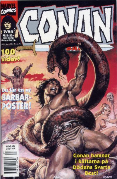 Cover for Conan (Semic, 1990 series) #7/1994