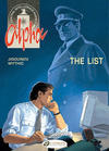 Cover for Alpha (Cinebook, 2008 series) #3 - The List