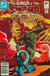 Cover for The Saga of Swamp Thing (DC, 1982 series) #17 [Newsstand]