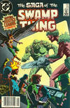Cover Thumbnail for The Saga of Swamp Thing (1982 series) #24 [Newsstand]