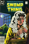 Cover for The Saga of Swamp Thing (DC, 1982 series) #33 [Newsstand]