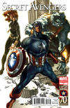 Cover Thumbnail for Secret Avengers (2010 series) #11 [Captain America 70th Anniversary Variant Cover]