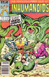 Cover Thumbnail for The Inhumanoids (1987 series) #1 [Newsstand Edition]