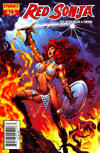 Cover Thumbnail for Red Sonja (2005 series) #14 [Claudio Castellini Cover]