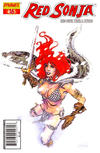 Cover Thumbnail for Red Sonja (2005 series) #16 [Stephen Sadowskii Cover]