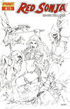 Cover Thumbnail for Red Sonja (2005 series) #16 [Mel Rubi Retailer Incentive Sketch Cover]