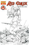 Cover Thumbnail for Red Sonja (2005 series) #19 [Sean Chen Retailer Incentive Sketch Cover]